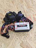 Аккумуляторный налобный фонарь BL-8816, фото 3