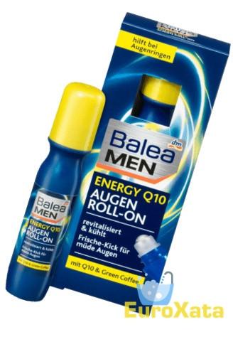 Крем для кожи вокруг глаз Balea MEN energy Q10 Eye Roll-on мужской (15мл) Германия