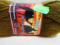 """Пряжа для вязания спицами """"Camel"""" коричневый"""