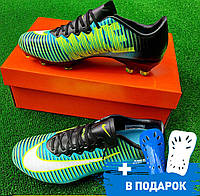 c27b8012 Sport Exclusive магазин футбольной экипировки. г. Киев. Бутсы (Найк  Меркуриал) Nike Mercurial Green/white XI FG