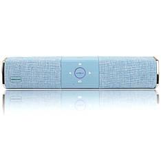 Беспроводная портативная Bluetooth колонка Hopestar A3 голубая - 140056
