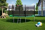 Батут Hop-Sport 14ft (427 см) с внешней защитной сеткой, фото 2