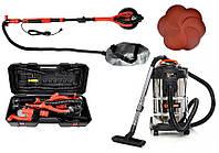 Шлифовальная машина для стен BASS POLSKA BP-5463 + пылесос BEST Tools OW1230AOF