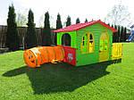 Садовый игровой домик с тунелем MOCHTOYS, фото 2