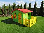 Садовый игровой домик с тунелем MOCHTOYS, фото 6
