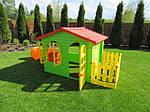 Садовый игровой домик с тунелем MOCHTOYS, фото 7