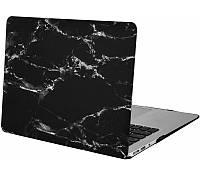Пластиковая накладка Mosiso Crystal Matte Hard Case for MacBook Air 13 (2012-2017) Black Marble
