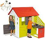 Детский домик игровой Smoby 810702 с кухонькой, фото 2