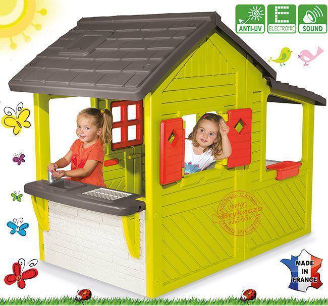 Детский домик игровой SMOBY Neo Floralie 310300