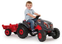 Трактор с прицепом SMOBY CLAAS XL 710114 красный