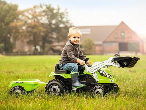 Трактор с прицепом Farmer SMOBY