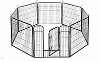 Огорожа для собак 80х100 см металлическая Модулированная