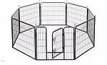 Огорожа для собак 80х100 см металлическая Модулированная, фото 2