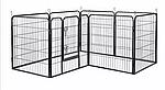 Огорожа для собак 80х100 см металлическая Модулированная, фото 3