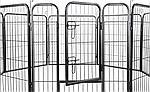 Огорожа для собак 80х100 см металлическая Модулированная, фото 4