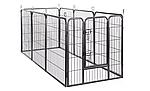 Огорожа для собак 80х100 см металлическая Модулированная, фото 5