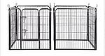 Огорожа для собак 80х100 см металлическая Модулированная, фото 6