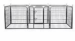 Огорожа для собак 80х100 см металлическая Модулированная, фото 7
