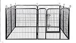 Огорожа для собак 80х100 см металлическая Модулированная, фото 8