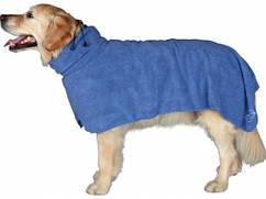 Полотенце -халат с микрофибры  для собак XS 30cm