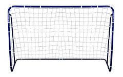 Ворота футбольные STRONG 240x160X100 + ANCHORS
