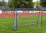 Ворота футбольные STRONG 240x160X100 + ANCHORS, фото 3