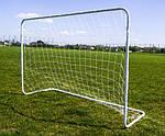 Ворота футбольні SPARTAN 182x122x60cm, фото 2