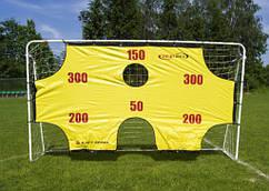 Ворота футбольные SPARTAN с матом 290x165x90 см