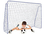Ворота футбольные мет. JET 5  213 x 150 см, фото 3