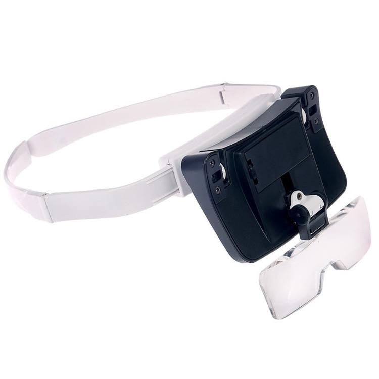 Бинокуляр очки бинокулярные со светодиодной подсветкой TH-9203 Лупа налобная