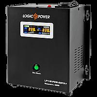ИБП Logicpower LPY-W-PSW-800VA+(560Вт)5A/15A с правильной синусоидой 12В, фото 1