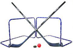 Хоккейный флорболл FISCHER 2 IN 1 GAME SET ЛЕТО + ЗИМА