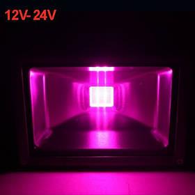 Светодиодный фитопрожектор SL-30G 30W 12-24VDC IP65 (full spectrum led) Код.59572