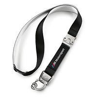 Оригинальный шнурок с карабином BMW M Motorsport Lanyard, Black (80272461132)