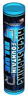 Mega Smoking Fountain BLUE  Дымный факел синего цвета - дуплекс
