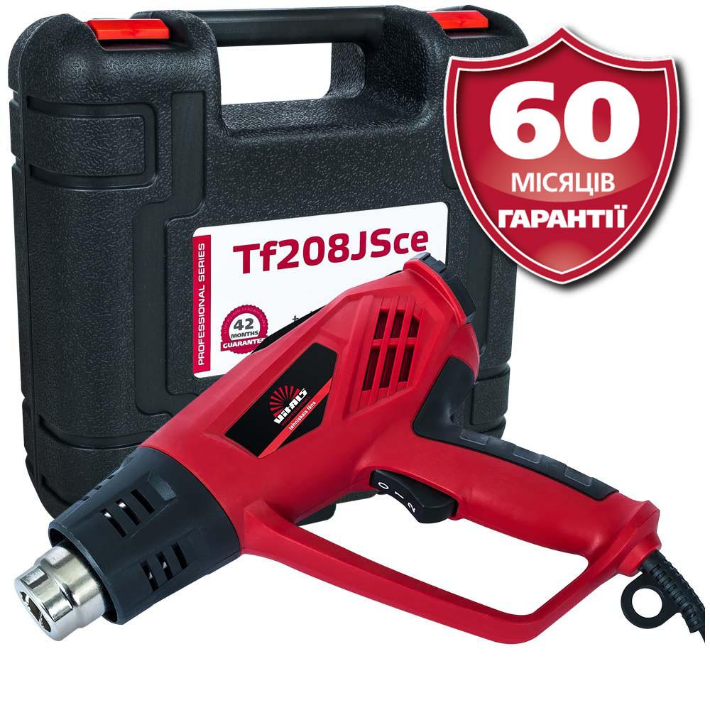 Фен строительный c электронным дисплеем VITALS Professional Tf 208JSce