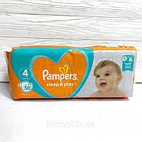 Подгузники Pampers Sleep&Play 4 (9-14 кг), 50 шт
