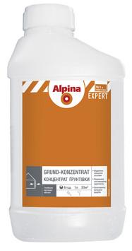 Alpina EXPERT Грунт-Концентрат предназначен для подготовки минеральных оснований, для наруж. и внутрен. работ
