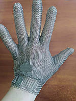Кольчужная перчатка Tridentum (Италия) с металлической застежкой