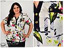 Женская рубашка обманка №5756, фото 2