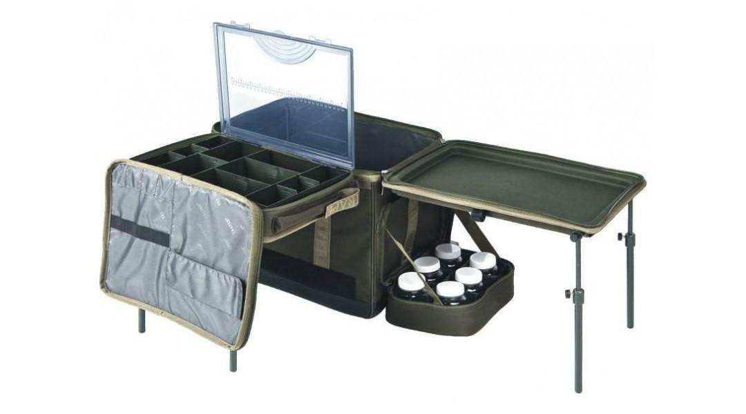 Карповая сумка со столиком Traper Excellence Kombi