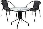 Набор садовой мебели BISTRO стол +2 кресла Польша, фото 7