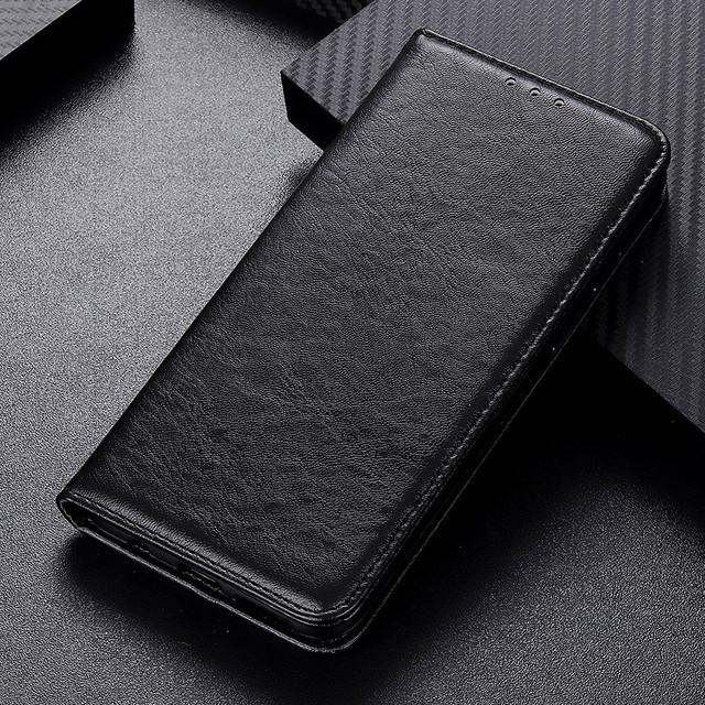 Samsung Galaxy a10s чехол книжка со встроенной магнитной застежкой черный