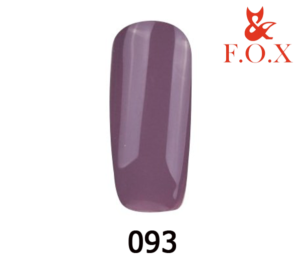 Гель-лак FOX Pigment № 093 (серо-лиловый), 6 мл
