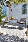 Набор садовой мебели YTTRUP 62см + 2 MADERNE коричневий, фото 5