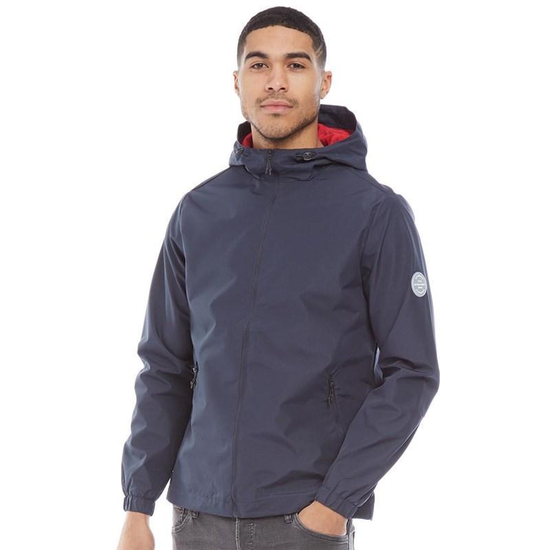 Мужская куртка ветровка JACK AND JONES Glave Light Track Jacket синяя оригинал