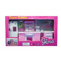 "Кухня ""Gloria"" 9986GB холодильник, газ.плита, мойка"