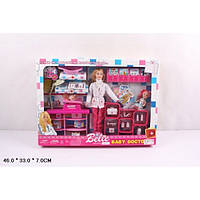 "Кукла типа ""Барби ""Детский доктор"" с пупсом и аксессуарами (JX600-51)"