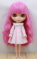 Розовое платье для куклы Блайз, Айси