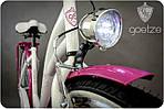 Велосипед женского города Goetze BLUEBERRY 28 корзина !!!Цвет бело-голубой, фото 8